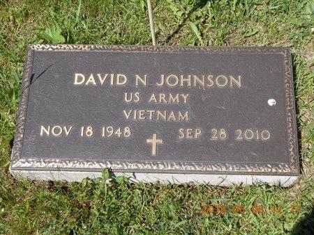 JOHNSON, DAVID N. - Marquette County, Michigan | DAVID N. JOHNSON - Michigan Gravestone Photos