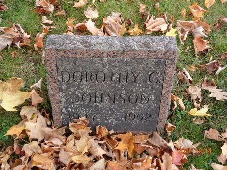 JOHNSON, DOROTHY C. - Marquette County, Michigan | DOROTHY C. JOHNSON - Michigan Gravestone Photos