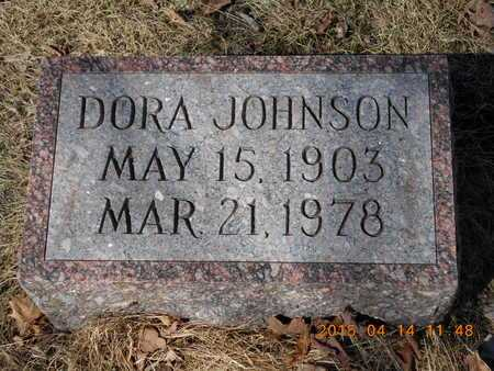 JOHNSON, DORA - Marquette County, Michigan | DORA JOHNSON - Michigan Gravestone Photos