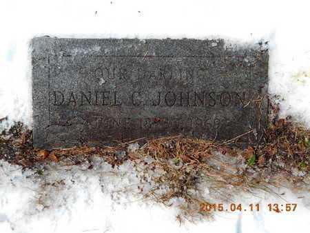 JOHNSON, DANIEL C. - Marquette County, Michigan | DANIEL C. JOHNSON - Michigan Gravestone Photos