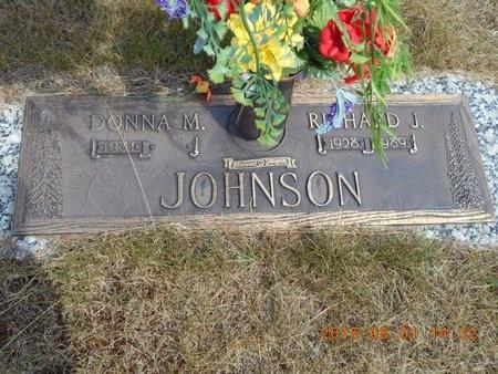 JOHNSON, DONNA M. - Marquette County, Michigan | DONNA M. JOHNSON - Michigan Gravestone Photos