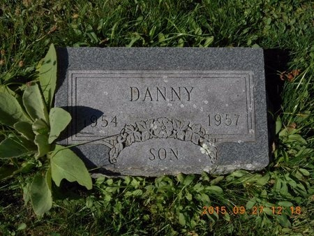 JOHNSON, DANNY - Marquette County, Michigan | DANNY JOHNSON - Michigan Gravestone Photos