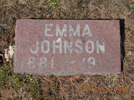 JOHNSON, EMMA - Marquette County, Michigan | EMMA JOHNSON - Michigan Gravestone Photos