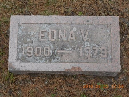 JOHNSON, EDNA V. - Marquette County, Michigan | EDNA V. JOHNSON - Michigan Gravestone Photos