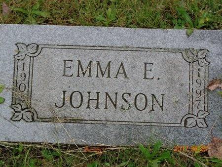 JOHNSON, EMMA E. - Marquette County, Michigan | EMMA E. JOHNSON - Michigan Gravestone Photos