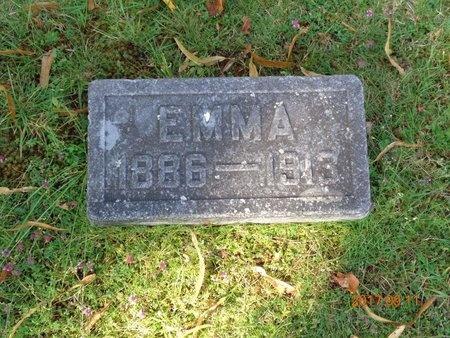 JOHNSON, EMMA - Marquette County, Michigan   EMMA JOHNSON - Michigan Gravestone Photos