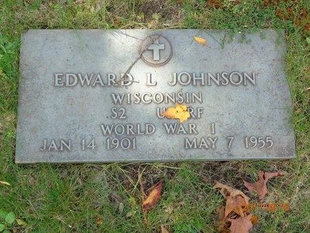 JOHNSON, EDWARD L. - Marquette County, Michigan | EDWARD L. JOHNSON - Michigan Gravestone Photos