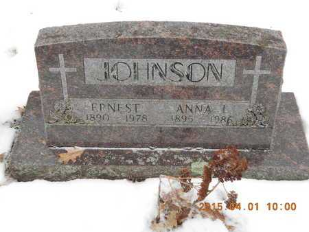 JOHNSON, ANNA L. - Marquette County, Michigan | ANNA L. JOHNSON - Michigan Gravestone Photos
