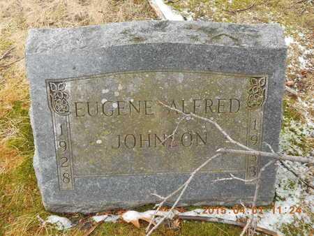 JOHNSON, EUGENE ALFRED - Marquette County, Michigan   EUGENE ALFRED JOHNSON - Michigan Gravestone Photos