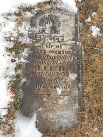 JOHNSON, EUNICE - Marquette County, Michigan | EUNICE JOHNSON - Michigan Gravestone Photos