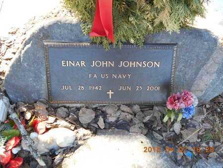 JOHNSON, EINAR JOHN - Marquette County, Michigan | EINAR JOHN JOHNSON - Michigan Gravestone Photos