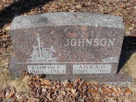 JOHNSON, ANNA B. - Marquette County, Michigan | ANNA B. JOHNSON - Michigan Gravestone Photos