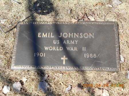 JOHNSON, EMIL - Marquette County, Michigan | EMIL JOHNSON - Michigan Gravestone Photos