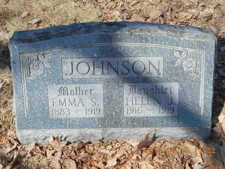 JOHNSON, EMMA S. - Marquette County, Michigan | EMMA S. JOHNSON - Michigan Gravestone Photos