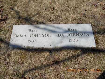 JOHNSON, EMMA - Marquette County, Michigan | EMMA JOHNSON - Michigan Gravestone Photos
