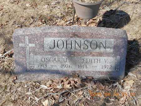 JOHNSON, EDITH V. - Marquette County, Michigan   EDITH V. JOHNSON - Michigan Gravestone Photos
