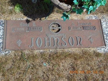 JOHNSON, EDNA S. - Marquette County, Michigan   EDNA S. JOHNSON - Michigan Gravestone Photos