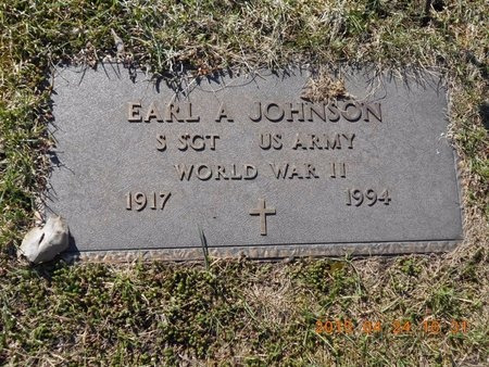 JOHNSON, EARL A. - Marquette County, Michigan | EARL A. JOHNSON - Michigan Gravestone Photos
