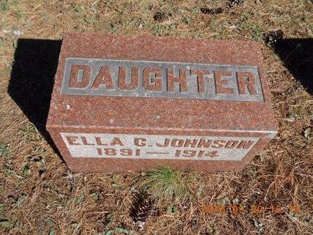 JOHNSON, ELLA C. - Marquette County, Michigan | ELLA C. JOHNSON - Michigan Gravestone Photos