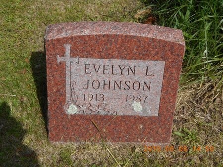 JOHNSON, EVELYN L. - Marquette County, Michigan | EVELYN L. JOHNSON - Michigan Gravestone Photos