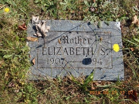 JOHNSON, ELIZABETH S. - Marquette County, Michigan | ELIZABETH S. JOHNSON - Michigan Gravestone Photos