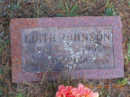 JOHNSON, EDITH - Marquette County, Michigan | EDITH JOHNSON - Michigan Gravestone Photos