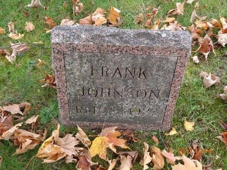 JOHNSON, FRANK - Marquette County, Michigan | FRANK JOHNSON - Michigan Gravestone Photos