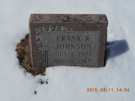 JOHNSON, FRANK R. - Marquette County, Michigan | FRANK R. JOHNSON - Michigan Gravestone Photos