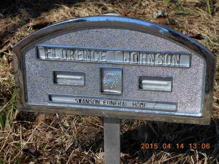 JOHNSON, FLORENCE - Marquette County, Michigan | FLORENCE JOHNSON - Michigan Gravestone Photos