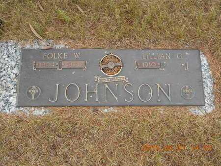 JOHNSON, LILLIAN G. - Marquette County, Michigan | LILLIAN G. JOHNSON - Michigan Gravestone Photos