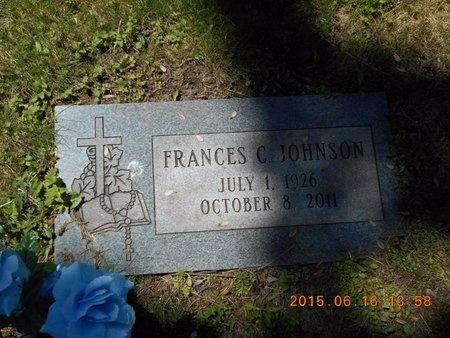 JOHNSON, FRANCES C. - Marquette County, Michigan   FRANCES C. JOHNSON - Michigan Gravestone Photos