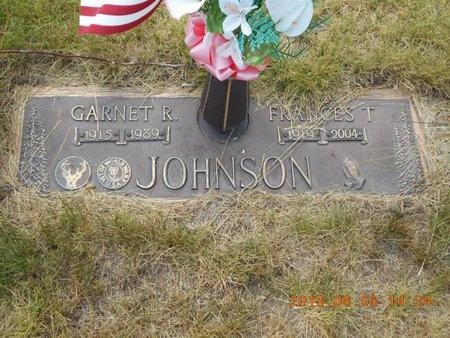 JOHNSON, GARNET R. - Marquette County, Michigan | GARNET R. JOHNSON - Michigan Gravestone Photos