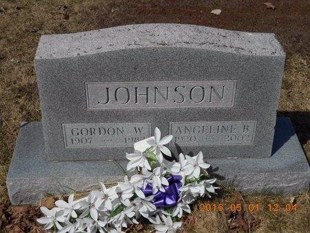 JOHNSON, ANGELINE B. - Marquette County, Michigan   ANGELINE B. JOHNSON - Michigan Gravestone Photos