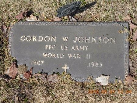 JOHNSON, GORDON W. - Marquette County, Michigan   GORDON W. JOHNSON - Michigan Gravestone Photos