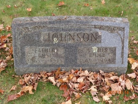 JOHNSON, GUST - Marquette County, Michigan | GUST JOHNSON - Michigan Gravestone Photos