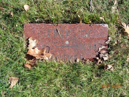 JOHNSON, GERTRUDE - Marquette County, Michigan   GERTRUDE JOHNSON - Michigan Gravestone Photos