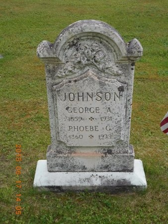 JOHNSON, PHOEBE G. - Marquette County, Michigan   PHOEBE G. JOHNSON - Michigan Gravestone Photos