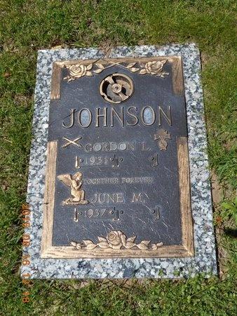 JOHNSON, JUNE M. - Marquette County, Michigan | JUNE M. JOHNSON - Michigan Gravestone Photos