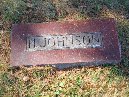 JOHNSON, H. - Marquette County, Michigan | H. JOHNSON - Michigan Gravestone Photos