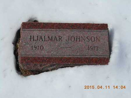 JOHNSON, HJALMAR - Marquette County, Michigan | HJALMAR JOHNSON - Michigan Gravestone Photos