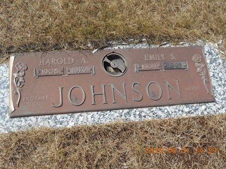 JOHNSON, EMILY S. - Marquette County, Michigan | EMILY S. JOHNSON - Michigan Gravestone Photos