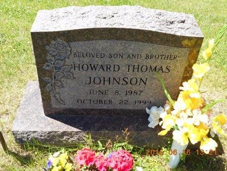 JOHNSON, HOWARD THOMAS - Marquette County, Michigan   HOWARD THOMAS JOHNSON - Michigan Gravestone Photos