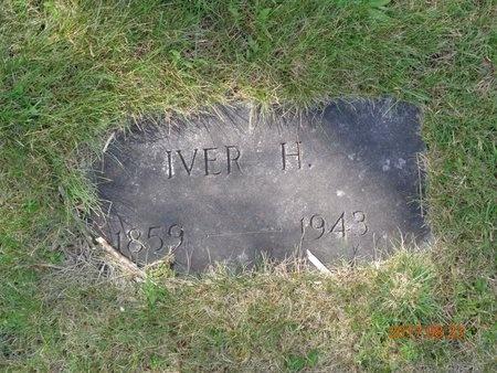 JOHNSON, IVER H. - Marquette County, Michigan   IVER H. JOHNSON - Michigan Gravestone Photos