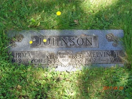 JOHNSON, MELVIN H. - Marquette County, Michigan | MELVIN H. JOHNSON - Michigan Gravestone Photos