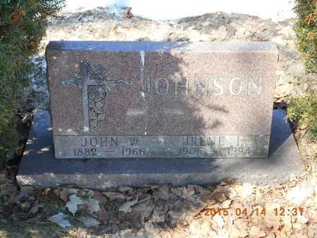 JOHNSON, IRENE L. - Marquette County, Michigan | IRENE L. JOHNSON - Michigan Gravestone Photos