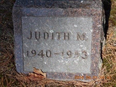 JOHNSON, JUDITH M. - Marquette County, Michigan | JUDITH M. JOHNSON - Michigan Gravestone Photos