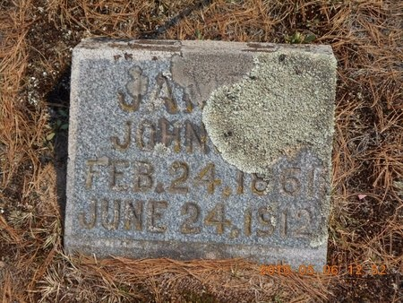 JOHNSON, JAMES - Marquette County, Michigan | JAMES JOHNSON - Michigan Gravestone Photos