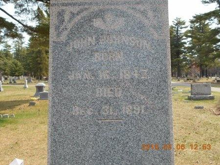 JOHNSON, JOHN - Marquette County, Michigan   JOHN JOHNSON - Michigan Gravestone Photos