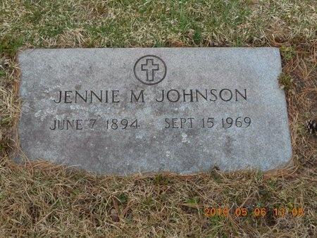 JOHNSON, JENNIE M. - Marquette County, Michigan | JENNIE M. JOHNSON - Michigan Gravestone Photos