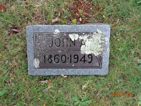 JOHNSON, JOHN AUGUST - Marquette County, Michigan   JOHN AUGUST JOHNSON - Michigan Gravestone Photos